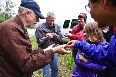 Last year, he introduced participants to geology during an Earth Day Field Trip to Cove Spring Park.